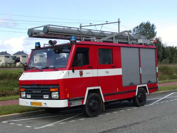 Fire Brigade Alkmaar Spijkstaal pumper