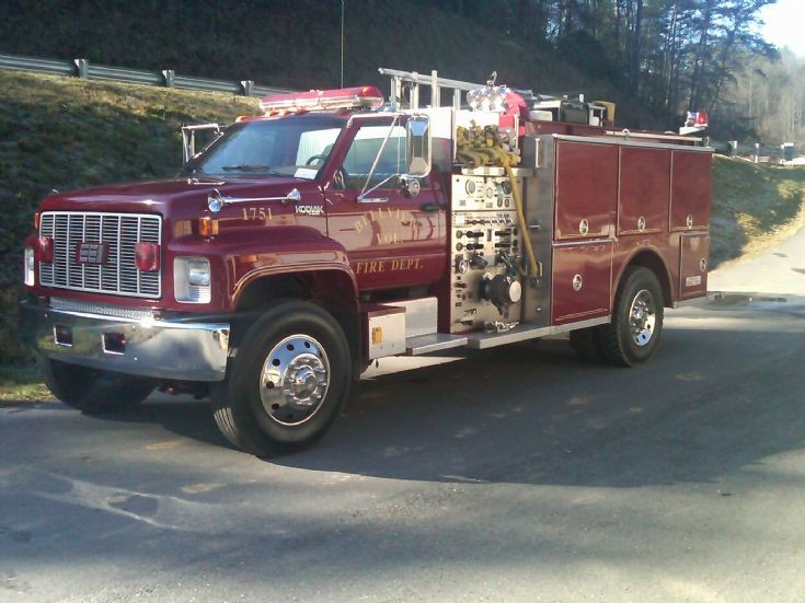 Bellview Volunteer Fire Dept. GMC