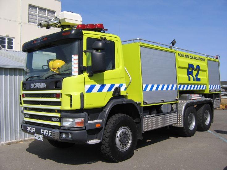 New Zealand Scania BYN973