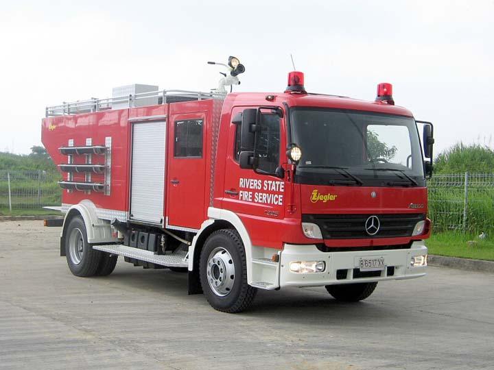 Mercedes Ziegler River State Fire Service Nigeria