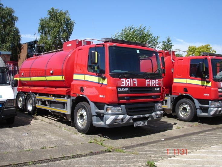 London Bulk Water Carrier - DAF CF 3 Axle