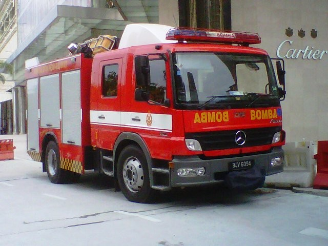 Malaysia Fire & Rescue - Light Fire Rescue Ten