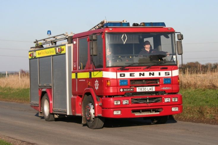 Kent Fire & Rescue Dennis Sabre/Saxon T830 LKE