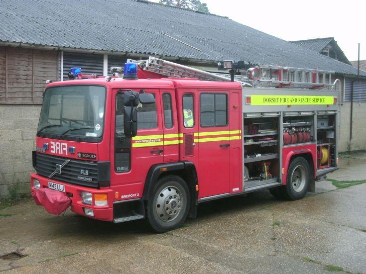 Volvo FL6 ex Dorset Fire and Rescue