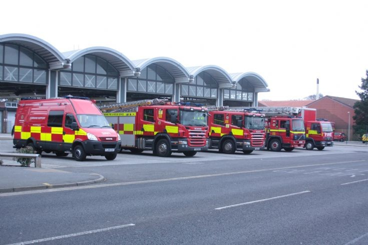Mansfield Fire Station Line UP 2012
