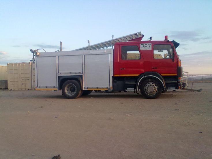 Scania Fire truck Skorpion Mine Namibia