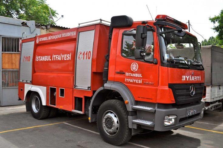 Istanbul Fire dept Tanker 2
