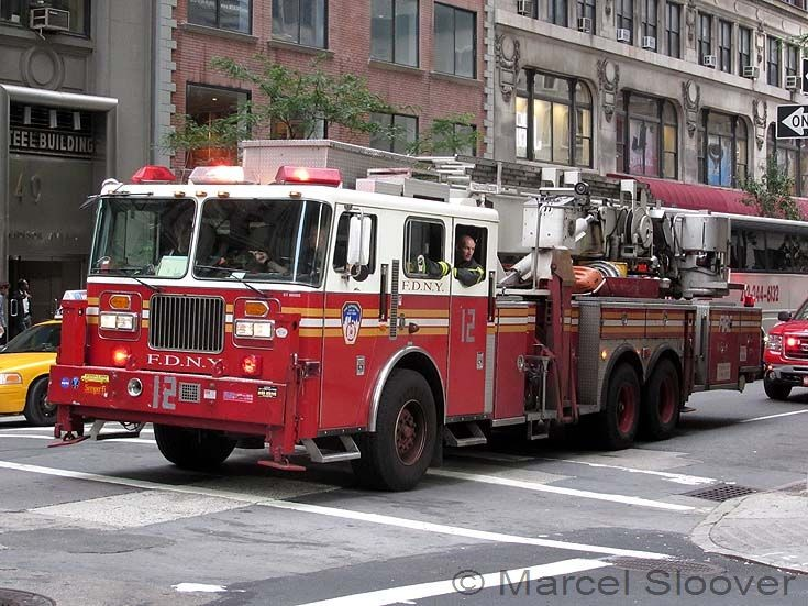 Fdny Ladder Ladder 12 Fdny Seagrave