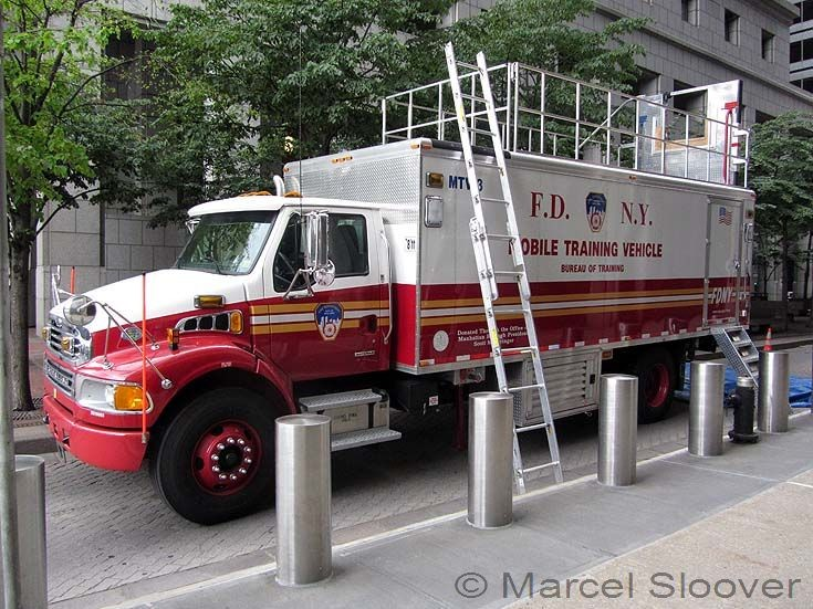 Mobile Training Vehicle FDNY