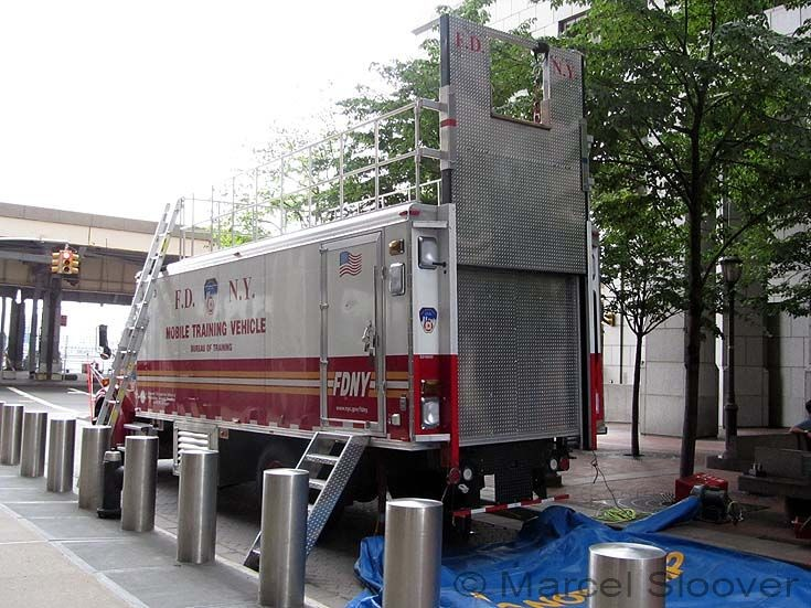 Mobile Training Vehicle FDNY back
