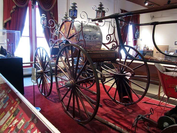 NYC Fire museum Veteran pumper