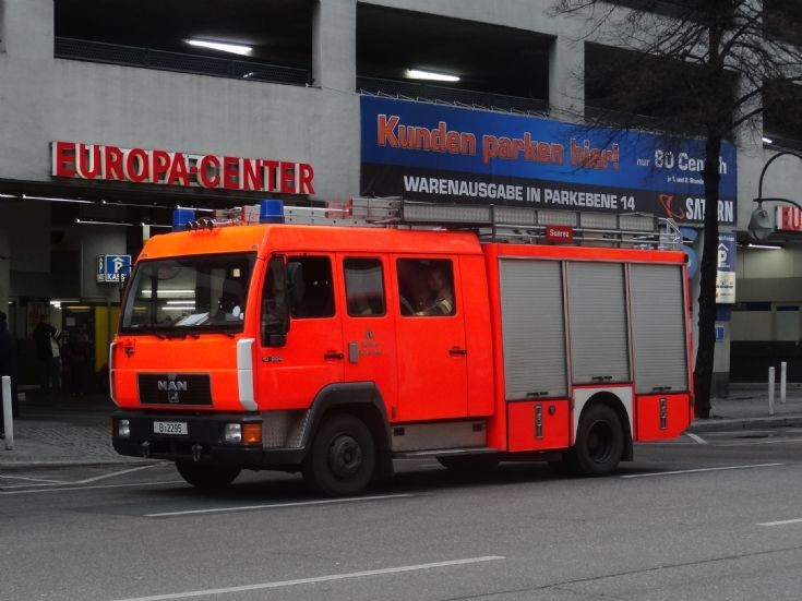 MAN pumper Berlin FD