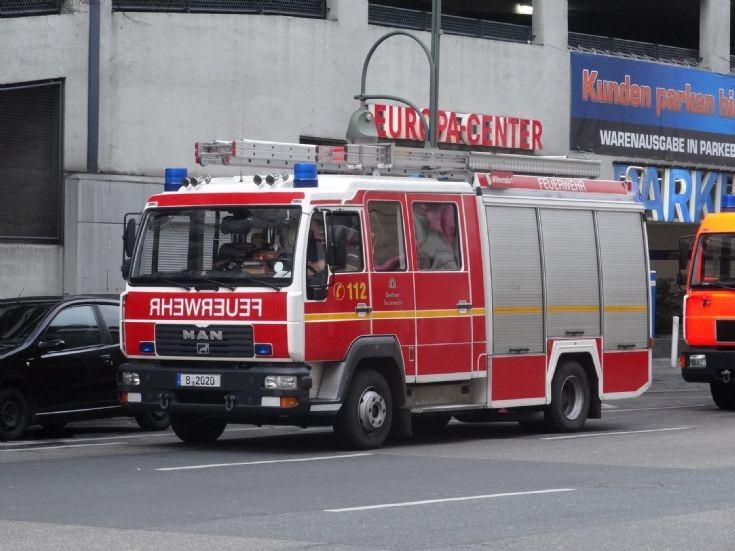 MAN Pumper Feuerwehr Berlin B2020