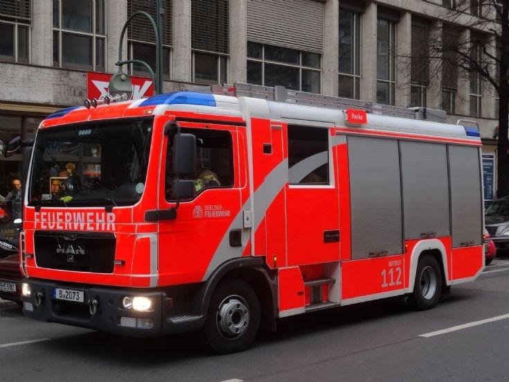 MAN Pumper Berlin Feuerwehr B2073