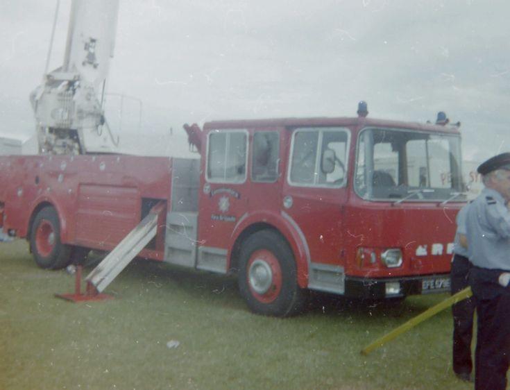 Lincoln City Fire Brigade ERF EFE 579 E