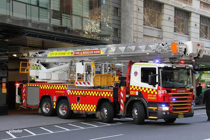 FRNSW Scania, Sydney Australia