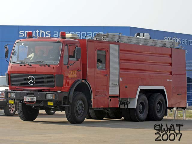 Mercedes Water Tanker China