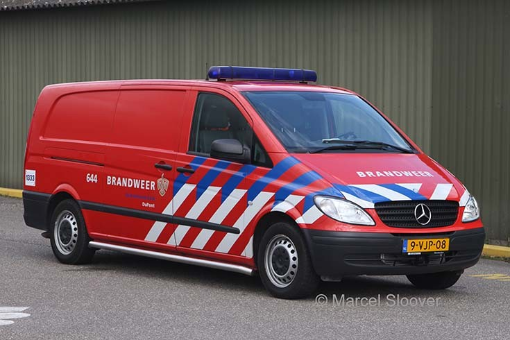 Dupont Dordrecht Mercedes Benz Vito 644
