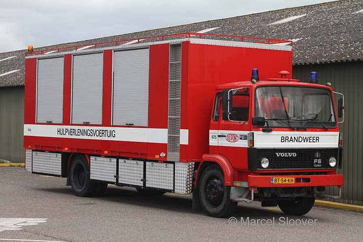 Du Pont Dordrecht Volvo Rescue truck 