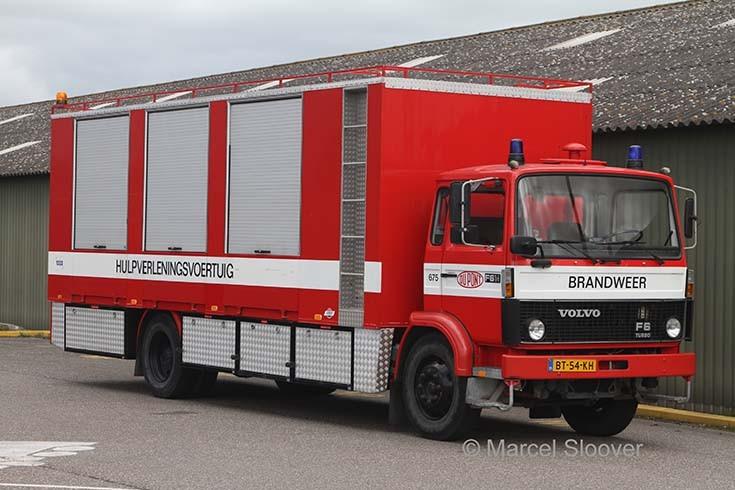 Du Pont Dordrecht Volvo Rescue truck