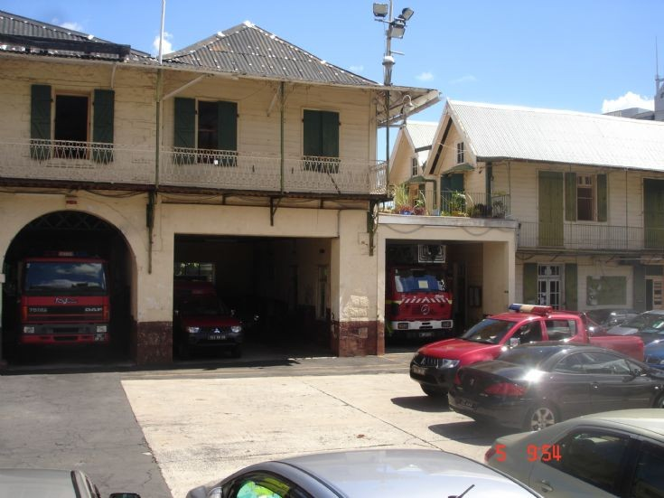 Photo of Port Louis Fire Station Mauritius