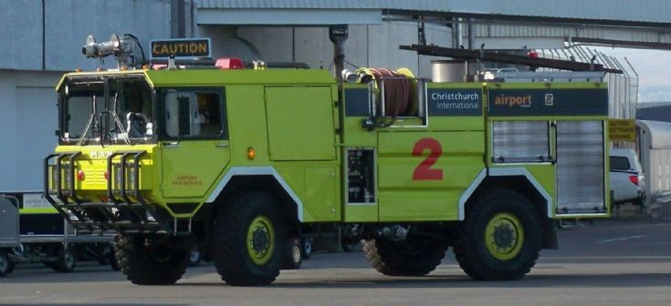 MAN Airport Crash Tender Christchurch NZL