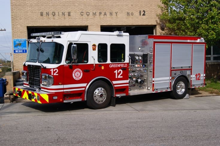 Pittsburgh Bureau of Fire Engine 12