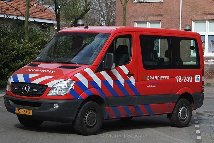 Brandweer Dordrecht 18-240 Mercedes Sprinter