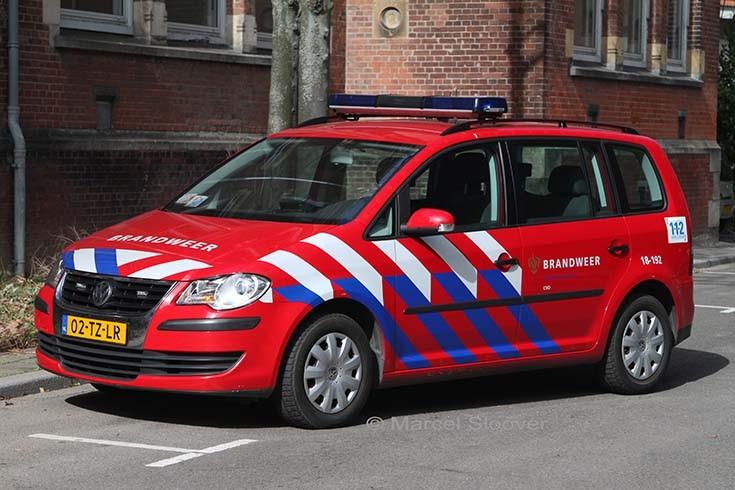 Brandweer Dordrecht Volkswagen Touran 18-192