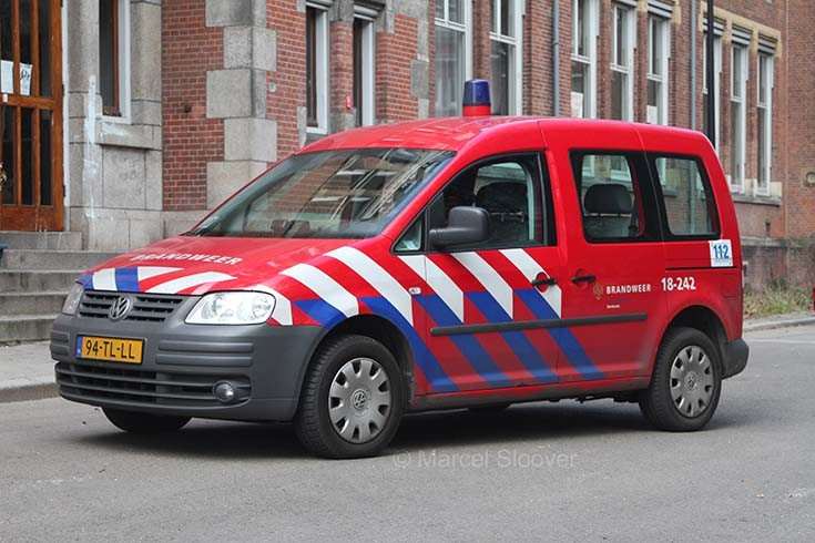 Brandweer Dordrecht VW Caddy 18-242