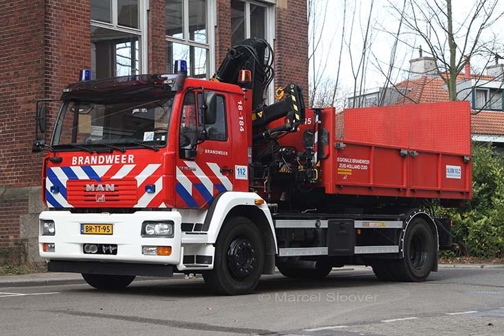 Brandweer Dordrecht MAN prime mover 18-184