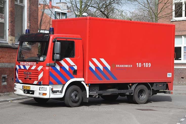 Brandweer Dordrecht MAN 18-189