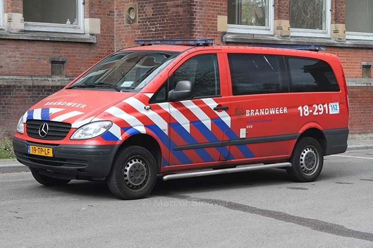 Brandweer Dordrecht Mercedes Vito 18-291