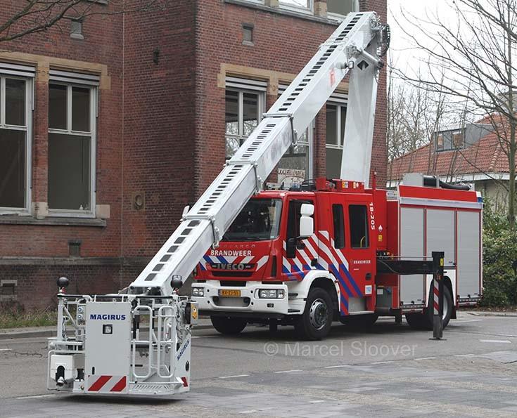 Iveco Magirus Multistar Brandweer Dordrecht
