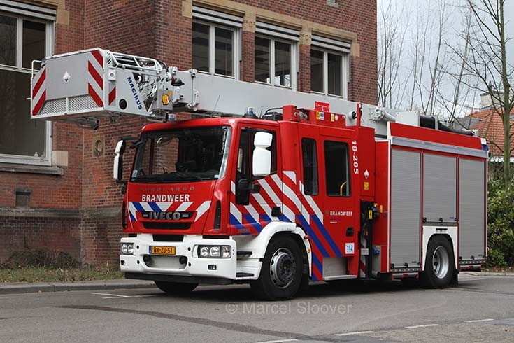 Brandweer Dordrecht 18-205 Iveco Multistar