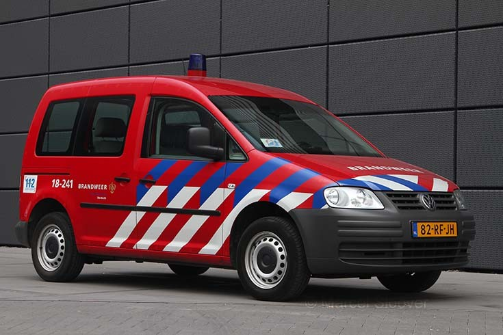 Brandweer Dordrecht VW Caddy 18-241