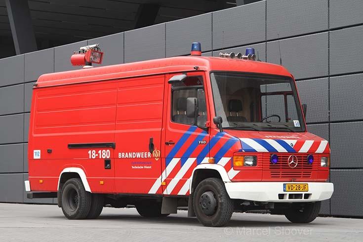 Brandweer Dordrecht Mercedes 18-180