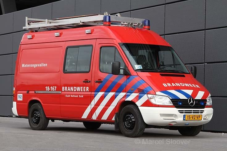 Brandweer Dordrecht Mercedes Sprinter 18-167