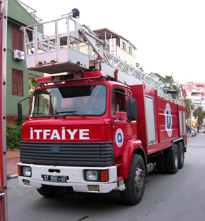 Grocery Fire - BMC Fatih
