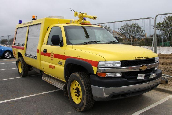 Fire 83 GMC 3500 Duramax Diesel