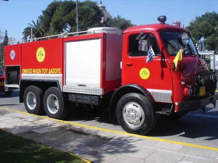 Steyr Athens Fire service