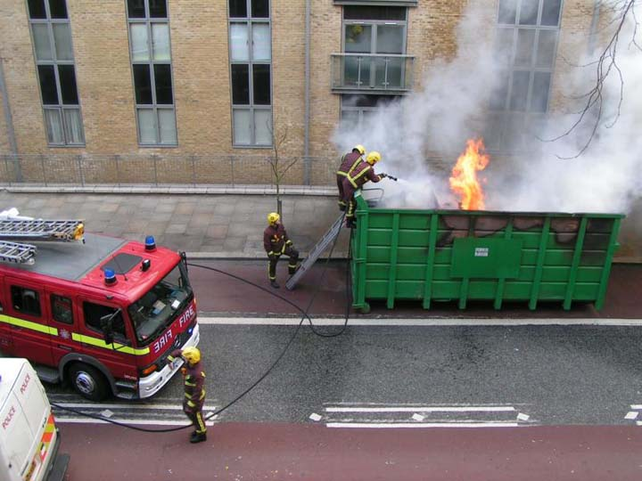 offensive firefighting