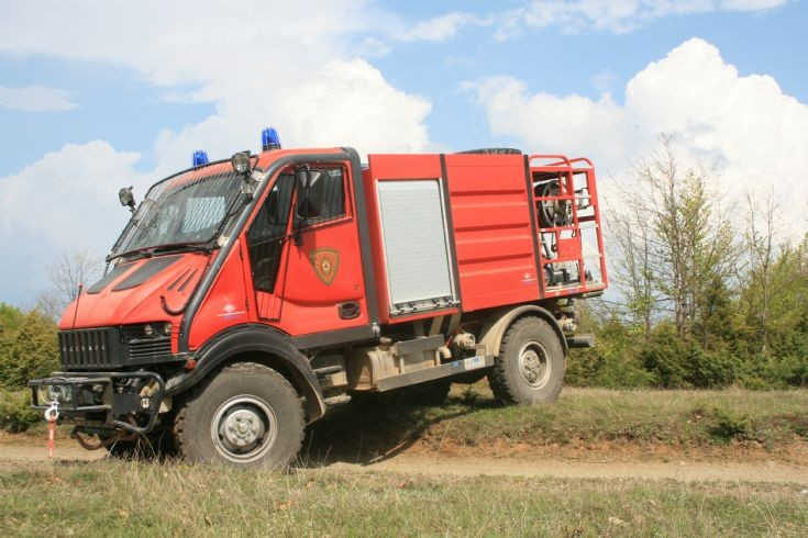 Mavravo Macedonia Wildfire unit
