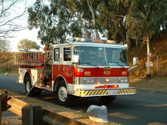 Old Engine 16, City of Johannesburg, Pierce
