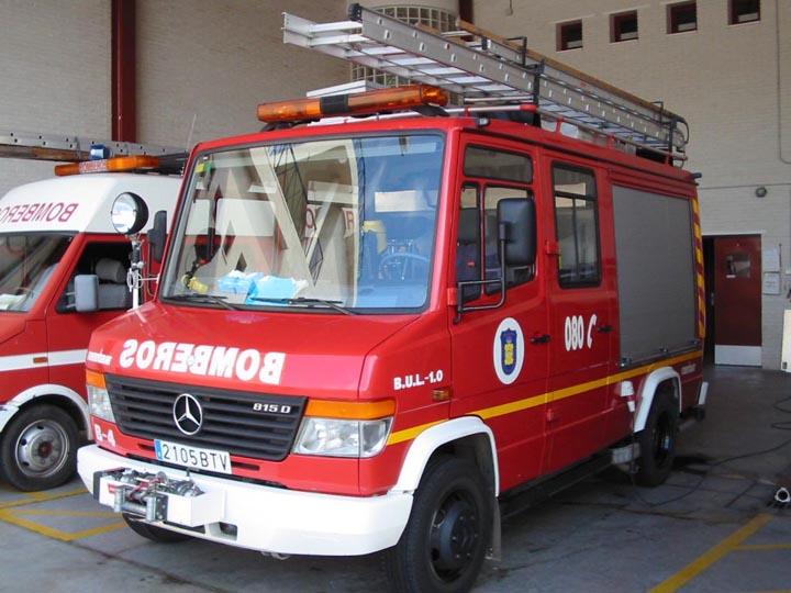 Malaga Spain Mercedes 815 D
