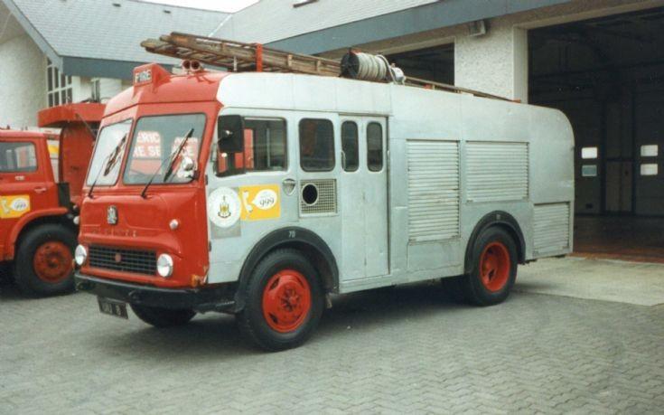 1968 Bedford TK Fire Appliance (Ireland).