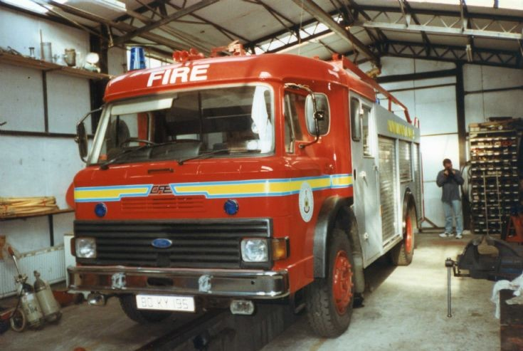 Kerry Fire Brigade Ford D / CFE Appliance.