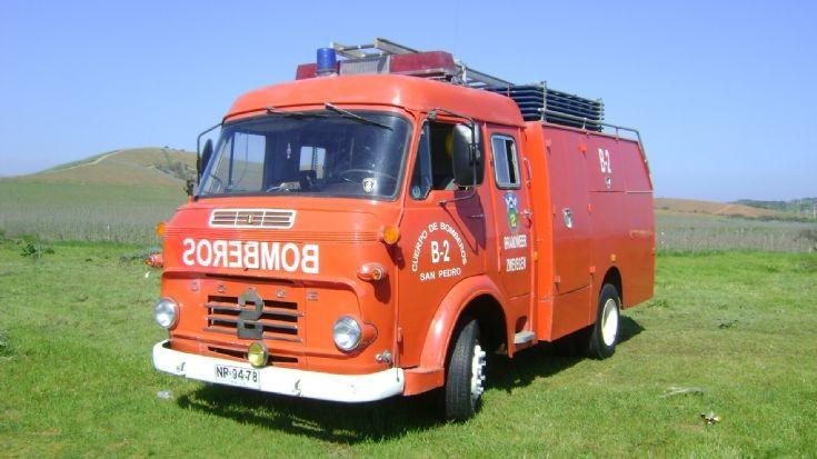 B-2 former Zwegegem Fire engine