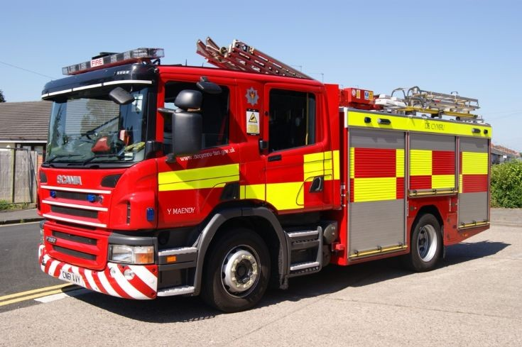 South Wales Scania/JDC Water Tender Ladder