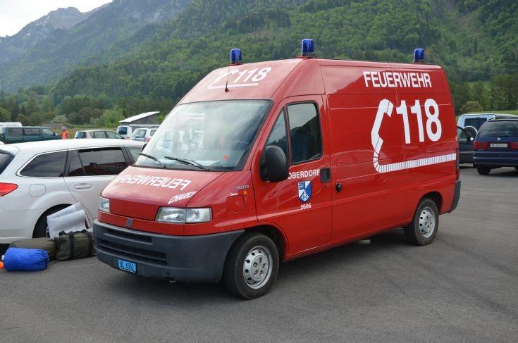 Material van Fiat Ducato Oberdorf